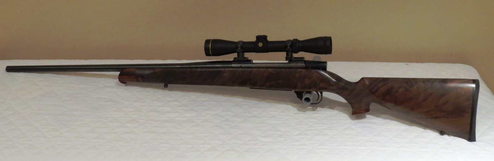 Weatherby vanguard custom stocked and in 30 06 legacy for Legacy restoration