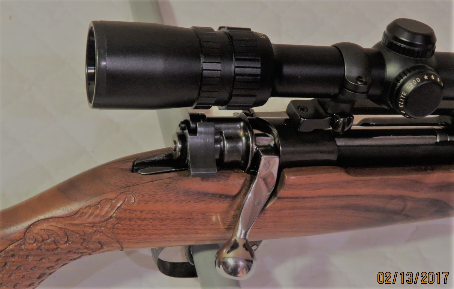 Mauser model 98 in 243 winchester legacy restorations for Legacy restoration